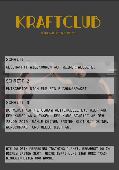Rüdiger Bülow Kraftclub Personal Training Bonn