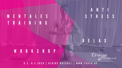 Yoga Tvaya Mental Coaching Workshop Schmargendorf Grunewald Dahlem