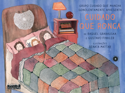 Kinderbuch mit CD - Cuidado que Ronca von Raquel Grabuska und Gustavo Finkler