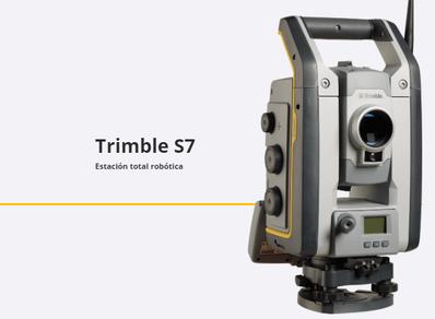 estaciones totales trimble S7
