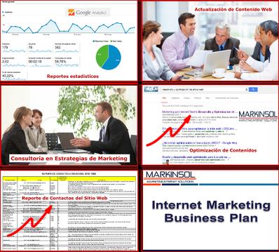 Markinsol - Mantenimiento Sitio Web