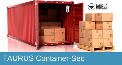 TAURUS Container-Sec, Containersicherung, Containerschutz, Bauwatch, Mobile Cam