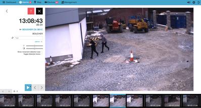 Baustellenüberwachung, Smart-Eye, TAURUS Smart-Eye, Baustellensicherung, Containersicherung, Freilandsicherung, Freigeländesicherung, Abfallwirtschaft, Waste Dumping, Baustellenschutz,