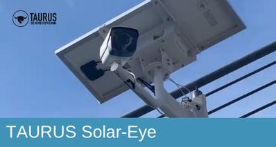 TAURUS Solar-Eye, Bauwatch, Mobile Cam, Baustellenüberwachung, Baustellensicherung, Teleskopturm,Videoturm