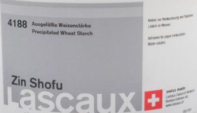 Leim;  Zin Shofu - Ausgefällte Weizenstärke