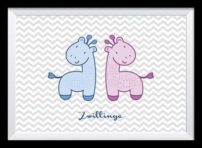 Illustration - Zwillinge