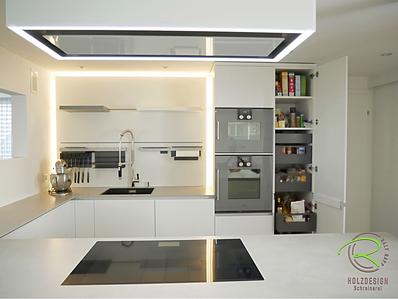 Weiße Hochglanzküche - Schreinerei - Holzdesign Rapp Geisingen
