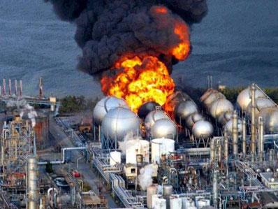 Eksplosionen på atomkraftværket i Fukushima