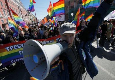 LGBT-demo i Moskva