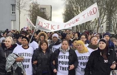 Beboere fra Aulnay kræver en retsforfølgelse mod de ansvarlige politifolk