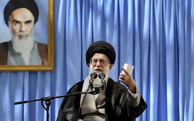 """Ayatollah Khamenei, Irans religiøse leder har udstedt en """"fatwa"""" (retskendelse) imod tilhængerne af  bahá'í  religionen"""