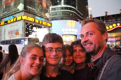 Saturday night à Time Square...