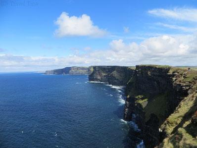 Die Cliffs of Moher sind die wohl bekanntesten Klippen Irlands