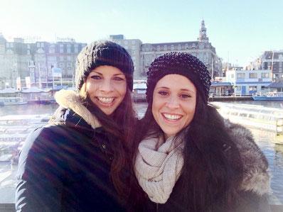 Nach dem Bachelor-Stress die verdiente Erholung in Amsterdam