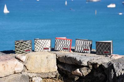 Portafoglio in tessuto vela / Sail wallet