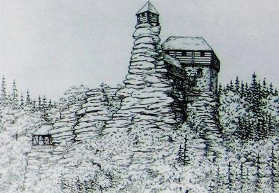 Die Burg Greifenstein
