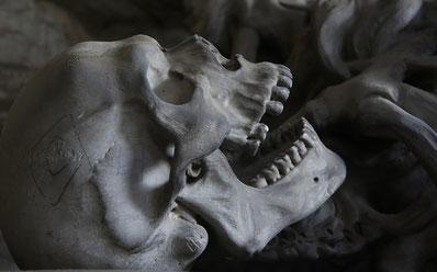 kopf eine skeletts