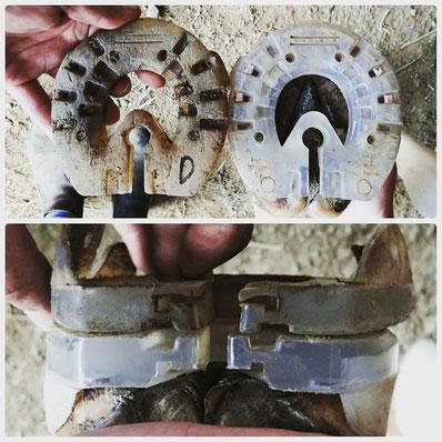 fers plastiques easyshoes performance n/g