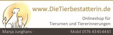 Tierbestattungen & Onlineshop für Tierurnen aus Leichlingen