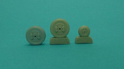 MustHave! Model wheels mirage III italeri