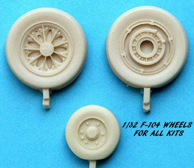 MustHave! Model wheels F 104