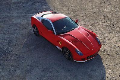 Luftaufnahme Ferrari 599 GTB by dg photo creator Richterswil Zürich