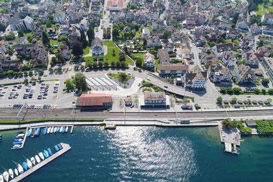 Luftaufnahme Bushof Richterswil dg photo creator