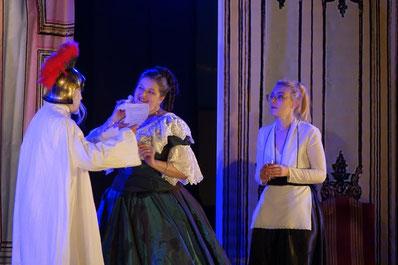 Napoléon III est impatient de découvrir l'opérette créée par les habitants de la vallée du Surmelin.