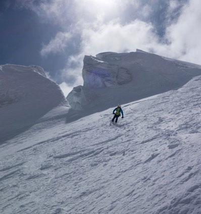 Oberaletschhütte, Lötschentaler Breithorn, Skitour, Skihochtour, Lötschental, Wallis, Berner Oberland, BEO, Beichpass, Beichgletscher