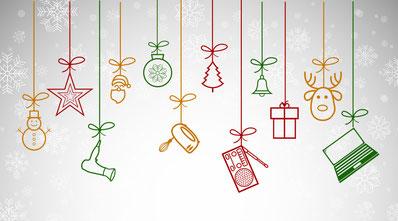 DRZ Weihnachtsgrafik