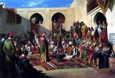 Novia judía, de Alfred Dehondecq (1822-1882)