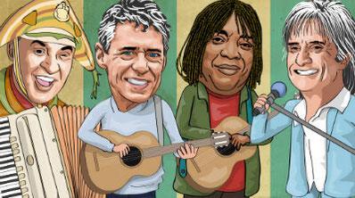 Cantantes MPB Brasileira