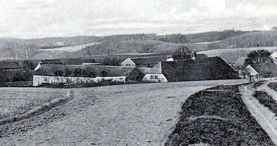 Freigut Lotzdorf um 1910