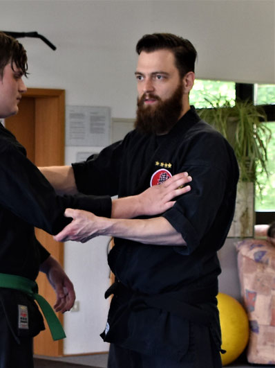 Bujinkan, Shidoshi, Edmund Wasinger, Kampfkunst, Lehrer, Lauf an der Pegnitz, Bujinkan Budo Taijutsu, Samurai, Martial Art, Kampfkunst Lauf, TSV Lauf,
