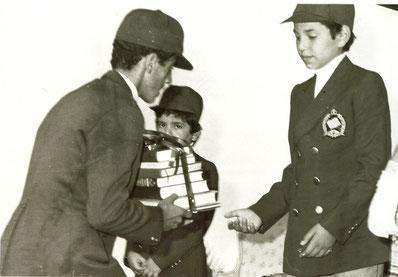 SM Mohamed VI, Que Dieu L'assiste alors Prince Héritier en Uniforme du 1er LMR