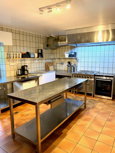 Huis g te rural hessemillen maison de vacances pour groupes - Keuken uitgerust m ...