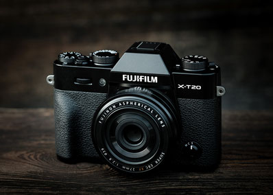 Fuji X-T20 with XF 27mm © Michael Schnabl