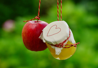Apfel vs. Apfelessig