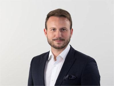 Diego Büchel, Immobilienvermarkter bei Göldi & Partner Immobilien AG. Bild: zvg