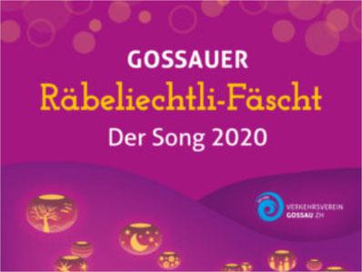 Ein Song speziell fürs Räbeliechtli-Fäscht 2020. Bild: Bobby Wagner/Verkehrsverein Gossau ZH