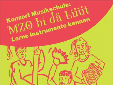 Neue MZO-Veranstaltung zum Kennenlernen von Instrumenten. Bild: zvg