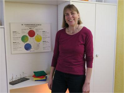 Susanne Knappe, integrative Kinesiologin und Wingwave-Coach. Bild: Barbara Tudor