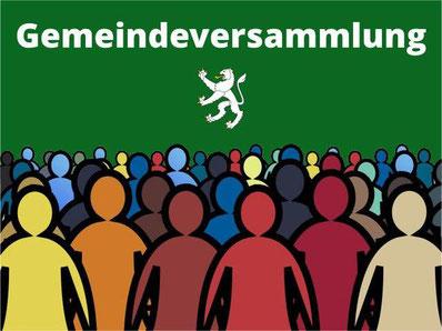 Die Gemeindeversammlung in Grüningen vom 10.12.20 findet statt. Bild: bunts.ch