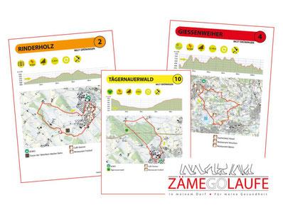 ZÄMEGOLAFE Grüningen bietet regelmässige Spaziergänge durch die Gemeinde. Bild: zämegolaufe.ch