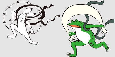 フィットネス整骨院vivace 豊田市フィットネス 豊田市接骨院 低気圧 台風 風神雷神 鳥獣戯画