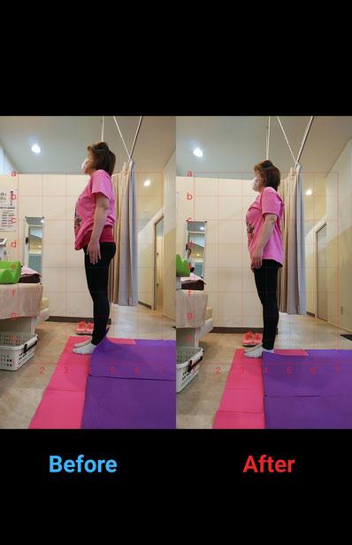フィットネス整骨院vivace 豊田市フィットネス ダイエット 姿勢改善 美姿勢 バレリーナの背中