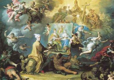Allegoria della Pace e autoritratto