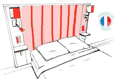 OH MY BED, tête de lit personnalisable fabrication française