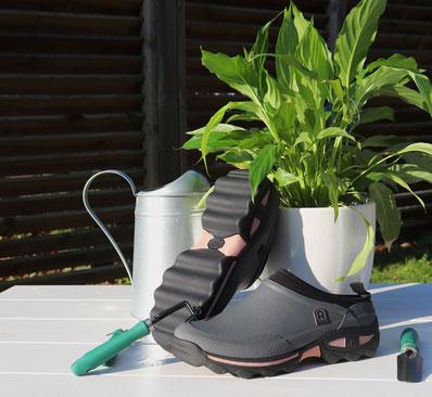 ©Rouchette, Sabot Clean Lady, nouveau design avec semelle en forme de vague
