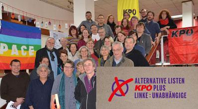Bild: Parteivorstand der KPÖ. Quelle: kpoe.at